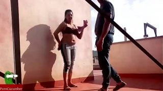 Devar fucked Bhabhi alone on the roof
