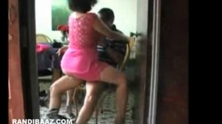 Indian Housewife riding her neighbour dick