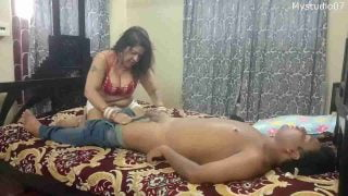 Indian aunty got me from playboy group and it was my first call xxx video